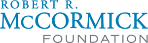 Logo for the Robert R. McCormick Foundation