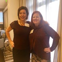 Michelle Kees and Jennifer Lamb at BMSF Grantee Summit