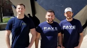 Group photo of the University of Michigan PAVE Team in 2018