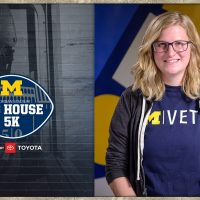 Photo of University of Michigan student veteran and Peer Advisor Lydia Pinkham