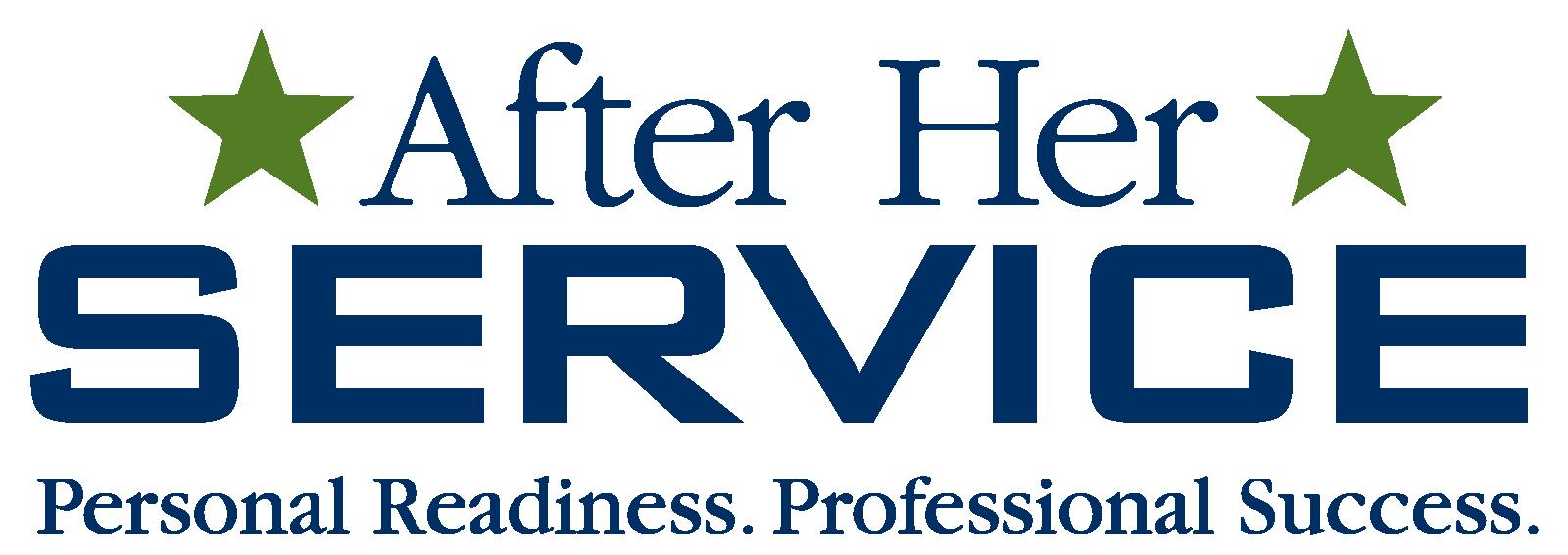After Her Service logo