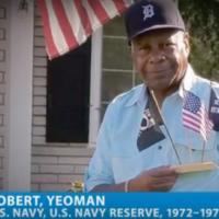 Buddy-to-Buddy volunteer and Navy veteran Robert Calhoun