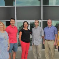 HomeFront Strong staff with leaders from the Michigan National Guard at at community mental health provider training in Traverse City in July 2018