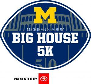 Logo for 2020 Big House 5K event