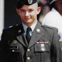 Dan Rubio standing dressed in uniform