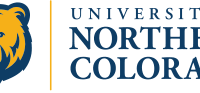 University of Northern Colorado's logo that has a bear